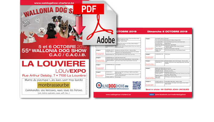 Wallonia Dog Show Charleroi